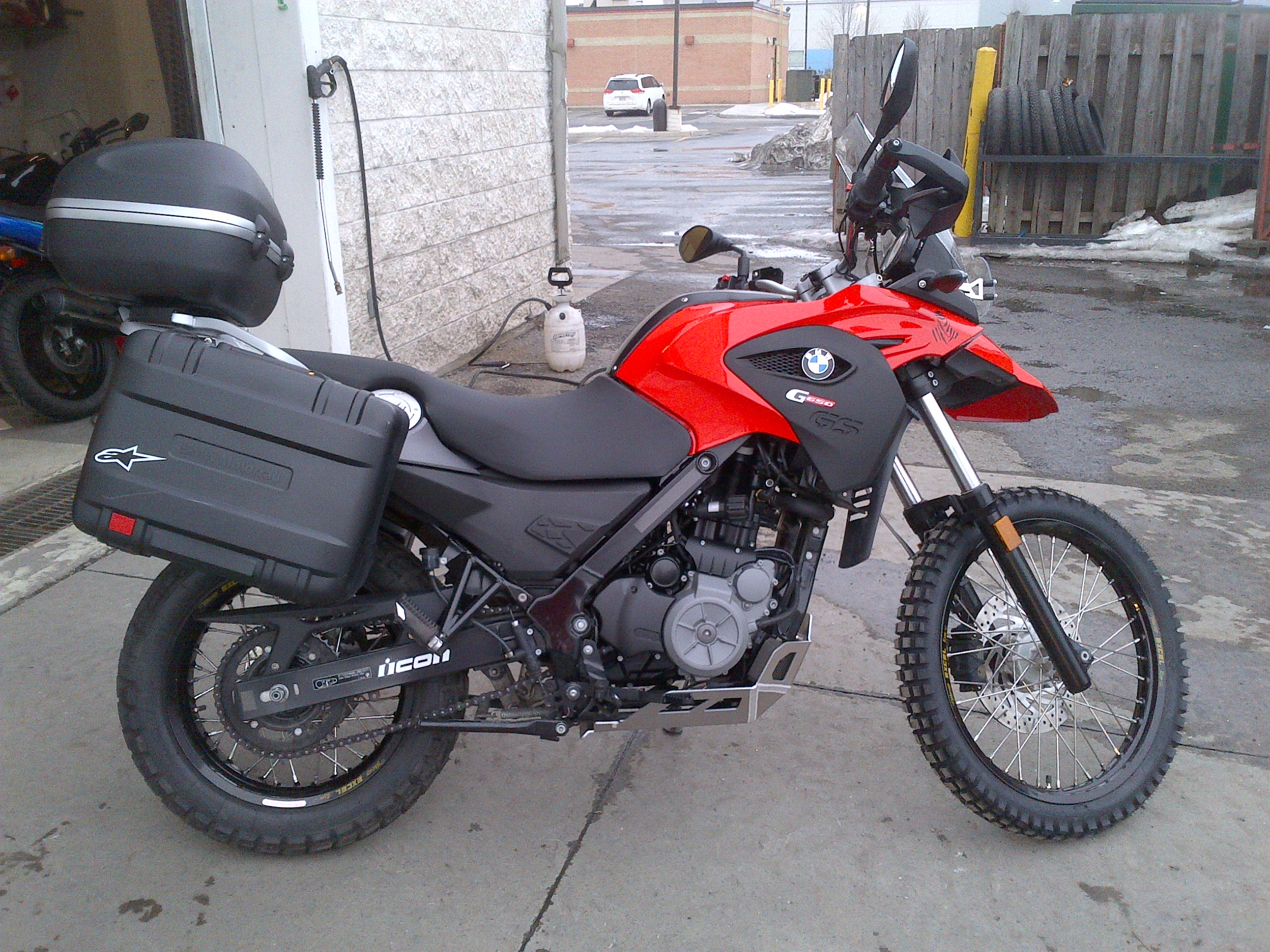 Bmw G650gs Bmw G650gs March 2013 With