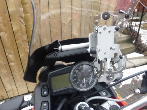 Touratech GPS mount