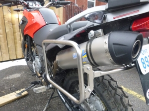 BMW G650GS with Leo Vince Pipe